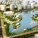 TP. Hà Nội thúc tiến độ xây Công viên hồ điều hòa Nhân Chính