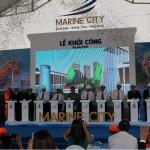 Khởi công dự án phố biển Marine City – Vũng Tàu