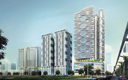 20150718084212404 Lạc Hồng chính thức khởi công dự án chung cư cao cấp N01 T5