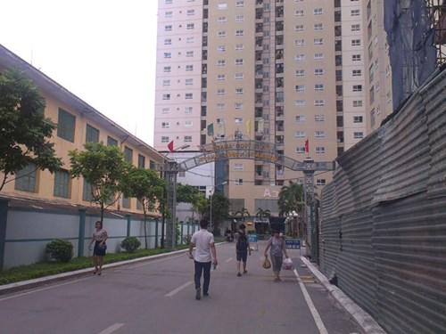 20150729080043 de57 Cưỡng chế vi phạm trật tự xây dựng đối với chung cư 250 Minh Khai