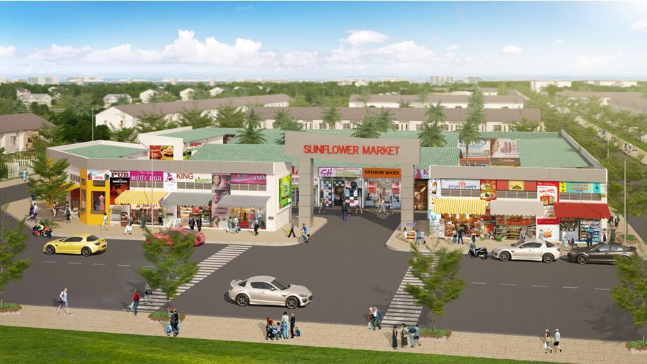 20150820084603 f264 Sunflower City : Xây dựng từ nhà đến chợ để hút khách hàng