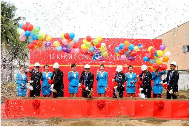 20150827082919 0827 Đất Xanh chính thức khởi công khu căn hộ thương mại cao cấp Luxcity