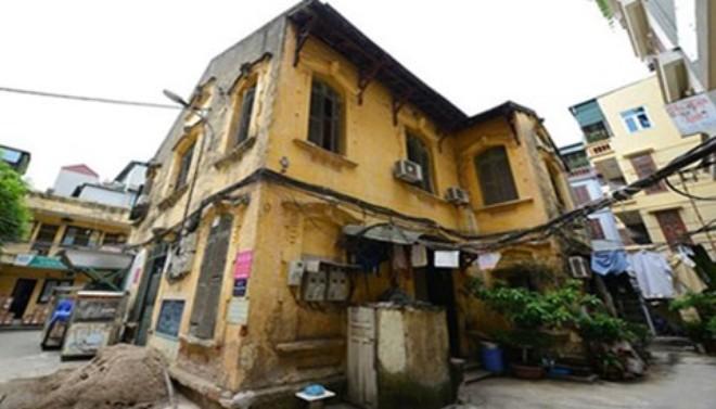 20151113132805 2f6d 108 Triệu đồng mỗi m2 là giá bán nhà cũ tại Hà Nội