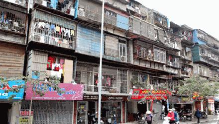 20151124030038984 Nguyên nhân khiến tiến độ cải tạo chung cư cũ bị chậm chạp