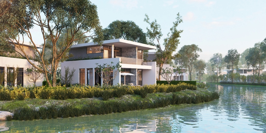 grand lake villascafelandvn 1453657863 LDG Group ra mắt khu biệt thự cao cấp Grand Lake Villas