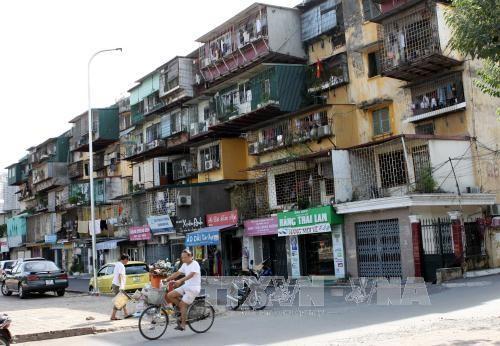 20160219135845 c096 Hà Nội quyết định di dời hộ dân ở các chung cư nguy hiểm mức độ D
