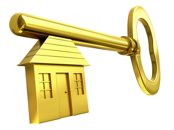 gold 20key 20and 20house 20edited 1455871411399 BĐS tung chiêu dùng vàng ròng thu hút khách