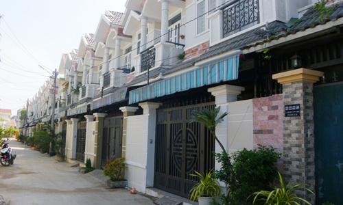 20160304071709692 Nhà phố xây sẵn giá rẻ ngoại ô Tp.HCM hút khách